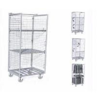 No Top Shelf Laundry Wire Utility Cart  Three Mesh Layers With Hanger Manufactures