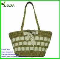 2014 LUDA Best Sequin Selling Straw Bags Manufactures