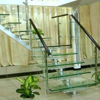 Flooring Safety PVB Laminated Glass Hollow / Solid Structure Customed Size Manufactures