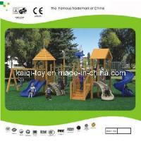 Wooden Series Outdoor Playground Equipment (KQ10154A) Manufactures