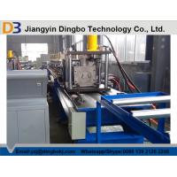 China Heavy Duty Metal Steel Roll Forming Machine , Rack Rolling Machine With Manual Decoiler 5.5KW on sale
