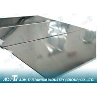 Polished / Sandblast Titanium Foil Sheet AMS 4911 With 0.3mm - 6.0mm For Industrial Area Manufactures