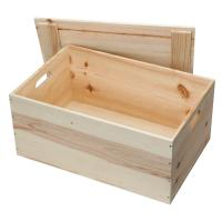 China Pine wooden boxes for gift on sale