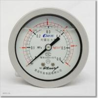 China silicone oil filled pressure gauges on sale