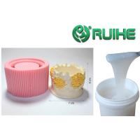 China Gypsum Molds Making Rtv2 Silicone Rubber 8 Inch Round Shape Silicone Bake Mold for sale