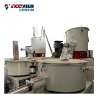 Quality 30-110 Kw Plastic Powder Mixer , PVC Mixer Machine High Speed Hot Cold for sale