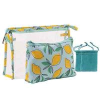 Dopp Hanging Travel Makeup Bag , Toiletry Organizer Purse Plastic Wash Bag