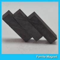 China Strong Powerful Ceramic Ferrite Magnets Square Block For Generators / Sensors on sale