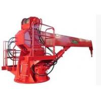 Quality marine telescopic boom crane ship crane for sale