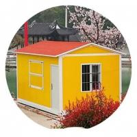 Multi Story Mobile Shipping Container Homes , Sentry Box Freight Container House Manufactures