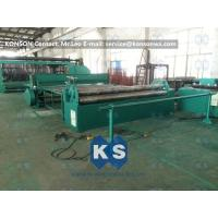 Professional Hexagonal Wire Mesh Machine Netting Straigntening And Cutting Machine Manufactures