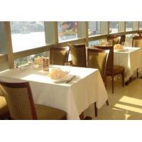 China Modern White Restaurant Table Cloth 100% PVC oilcloth tablecloth on sale