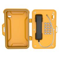 China Dustproof Industrial Weatherproof Telephone ,  Lockable Emergency Industrial Wall Phone Box on sale