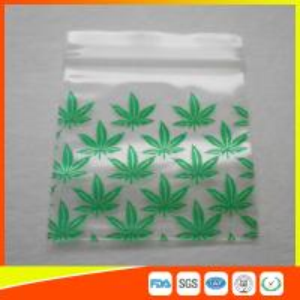 Reclosable Custom Printed Ziplock Bags / Plastic Packing Bag With Zipper Manufactures
