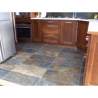 China Multicolor Slate Kitchen Floor Tiles Rusty Slate Backsplash Rust Slate Garden Pavers Manufactures