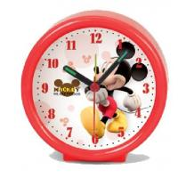 Customized 3D Cartoon Character Children Gift Clock , Mickey Alarm Clock Manufactures