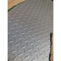 304 Stainless Steel Checkered Plate , Floor , Skid Proof Plate , Tear Plate Manufactures