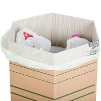 Durable Eco Friendly Garbage Bags , Colored Office Garbage Bags Custom Made Manufactures