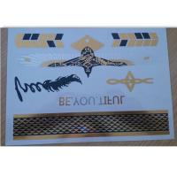 A5 format Metallic Temporary Tattoo for adults swimming suit Manufactures