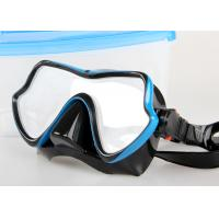 Prefessional Watersports Equipment PP ABS Silicon Scuba Diving Mask Manufactures