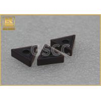 Non Standard Carbide Threading Inserts / Drilling Carbide Insert Blanks Manufactures