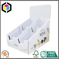 Strong Cardboard Display Box; High Quality Corrugated Display Box with Dividers Manufactures