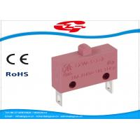 10A 5A 250V AC Electrical Micro Switches , Push Button Electric Switch SPST Type Manufactures
