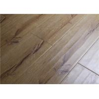 China Waterproof Distressed Maple Laminate Flooring with Handscraped Anti-scratched on sale