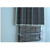 China Printed Natural Bamboo Roman Blinds Customized Length Strong But Flexible on sale