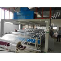PLC Controlled Compound Air Bubble Film Making Machine For Paper AL Foil Manufactures