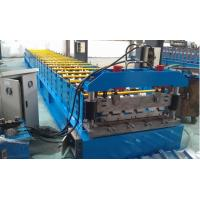 IBR 686 Roof Profile Roll Forming Machine 0.3mm - 0.8mm Thickness Manufactures