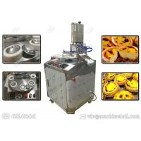 Buy cheap Customized Egg Tart Making Machine Stainless Steel Single Phase With Tart Shell from wholesalers