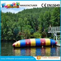 Colorful PVC Inflatable Water Toys Durable Water Jumping Blob Customized Manufactures
