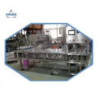 Stainless Steel 5Kw Automatic Bottle Filling Machine For Yogurt Filling Manufactures