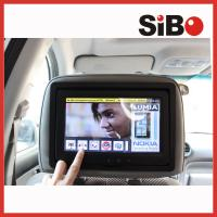 China 9 inch wifi 3G bluetooth Android 4.2 OS taxi bus car advertising video LCD monitor with headrest on sale