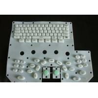 Eco Friendly Flexible Silicone Rubber Pc Keyboard With Colored Key Tops Manufactures