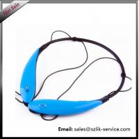 Sport Bluetooth Headphone/Headsets/Earphone Colorful Stereo HBS 800 sports neck band Hot sale 2016 HBS 800 wireless blue Manufactures