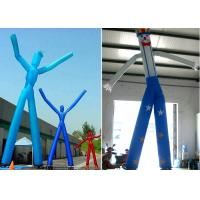 China Custom Height Inflatable Dancing Man , High Precision Stitching Dancing Tube Man on sale