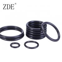 China Black Metric Size High Temperature Standard Nitrile Rubber O Ring Seals For Plumbing on sale