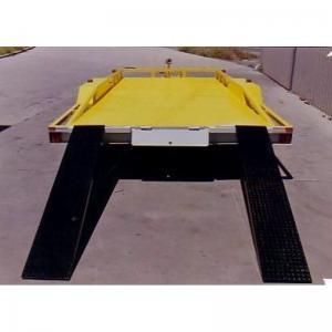 16 X 6'6 Tandem Car Carrier Trailer / Lightweight Car Hauler With 230mm High Rails Manufactures