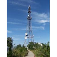 Steel Frame Building Construction Telecommunication Antenna Self Supporting