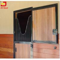 Buy cheap Customized Horse Shower Dividing Horse Stall Panels Wooden Bamboo Infill from wholesalers