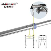 Stainless Steel Walker Disabled Walking Aids , Walking Frames For Disabled    Manufactures