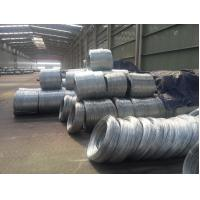 Q195 hot dip galvanized steel wire to make barbed wire , HIGH strength Manufactures