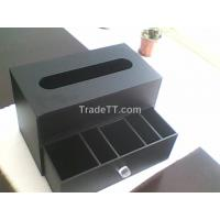China acrylic facial tissue holder on sale