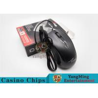 Electronic Baccarat Gambling Systems Casino Optical Mute Wired Gaming Mouse Manufactures
