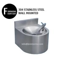 WDF25 Stainless Steel Wall Mounted Drinking Fountain Manufactures