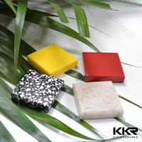 Anti-yellowing White Artificial stone solid surface sheets Manufactures