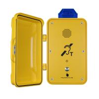 Emergency Industrial Weatherproof Telephone Anti Corrosion With Warning Lamp Manufactures