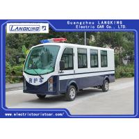 Blue / White Color Electric Ambulance Car With Toplight For Hospital Manufactures